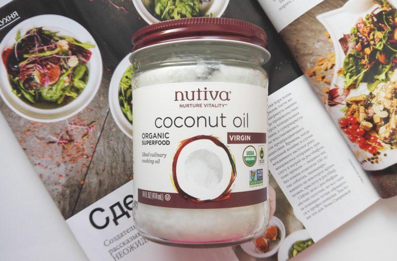 Кокосовое масло Extra Virgin от Nutiva