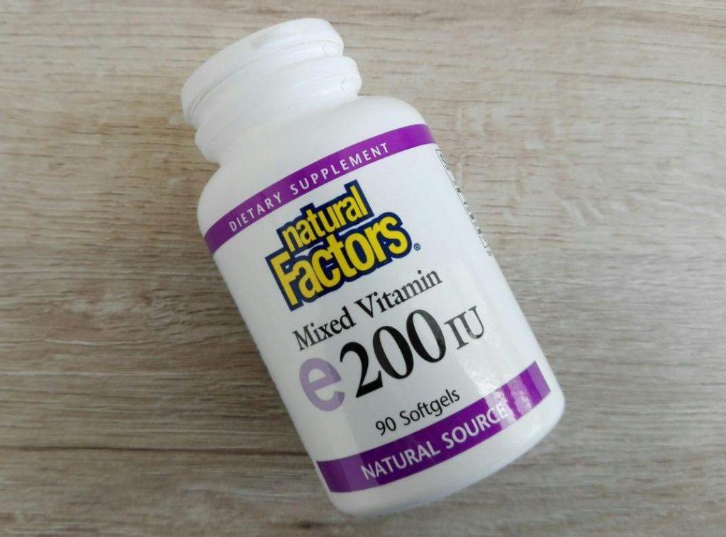 Витамин Е натуральный токоферол