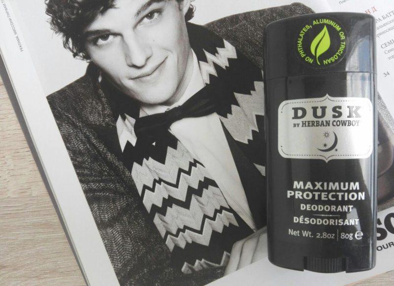 Мужской натуральный дезодорант