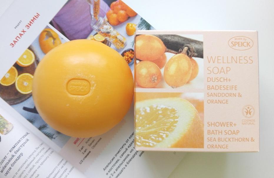 Мыло натуральное Speick Облепиха Апельсин