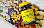 Комплекс витаминов группы B с рисовыми отрубями от Nature's Plus