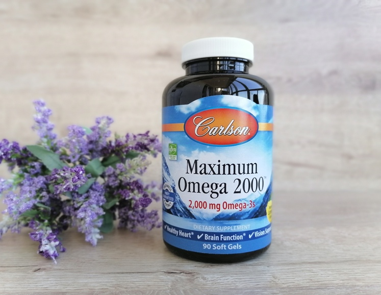 Omega-3 IFOS Carlson Labs рыбий жир