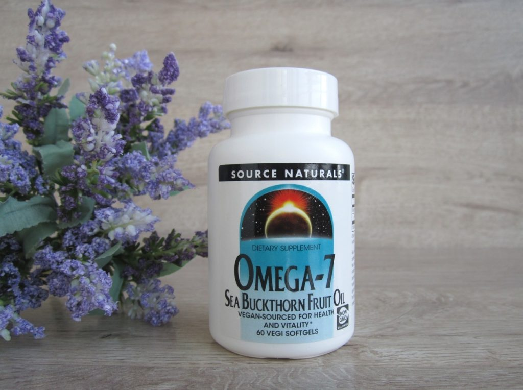 Омега-7 масло облепихи БАД для желудка