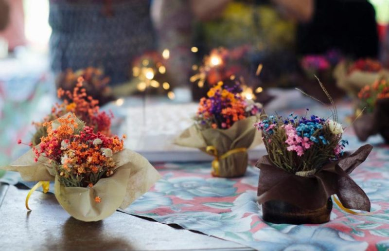 Цветы, праздник
